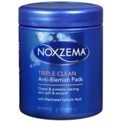 Noxzema Triple Clean Anti-Blemish Pads 90 ea