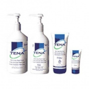 Skin Caring Tena Wash Cream, 16.9fl Oz 4ml Pump Controls Odour Protective, 1 ea