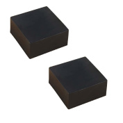 Handmade Natural 100% Tea Oil Bamboo Charcoal Soap for Face, Good Quality 2pics