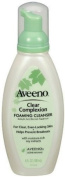 Aveeno Clear Complexion Foaming Cleanser, 180ml Bottles