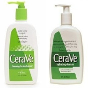 Cerave Hydrating Cleanser and Foaming Facial Cleanser Value Pack