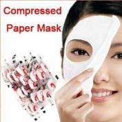 100pcs Skin Care DIY Face Facial fibre Compressed Dry Mask Paper Beauty