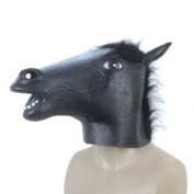 Holloween Decorations Props Adult Horse head latex Mask