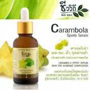 Bio Way Carambola Sports Serum reduce Melasma ,Freckle - 30ml & Free Gift