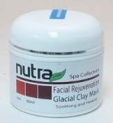 Spa Collection Facial Rejuvenation - Glacial Clay Mask Nutra Research Intl 60ml Cream