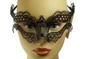 NEW Swan Princess Classic Venetian Intricate Design Laser Cut Masquerade Mask - Elegantly Detailed w/ Gems