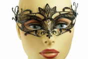NEW Swan Princess Venetian Design Laser Cut Masquerade Mask - Elegantly Detailed w/ Gems