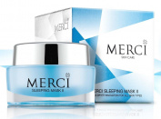 MERCI SLEEPING MASK II SKIN CARE FACIAL PREMIUM WHITENING FOR URGENT RESTORATION