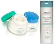 Lacura Day and Night Face Cream Q10 Anti-Wrinkle with Hydrating Facial Cleanser Combo Pack