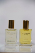 "ACTIVAROMA Argan oil Skincare ""DUO"" Facial Oil-travel size 0.5oz/15ml Pure Argan oil & Rose Jasmine Face Visage"