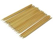 LUO 50pcs Popular Selling Product nail art orange wood stick cuticle pusher Ongle