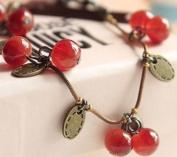 Retro Vintage Sweety Cherry Bracelets Hand Chain By U-Beauty