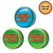 O'Keeffe's Working Hands Cream 2 Pack + O'Keeffe's Healthy Feet Cream :
