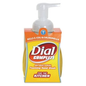 Dial Products - Dial - Complete Foaming Hand Wash, Liquid/Plum Colour, 220ml Pump Bottle - Sold As 1 Each - Hospital-strength antibacterial soap is 10 times more effective at killing germs than ordinary liquid soap. - Activ-FoamTM System provides insta ..