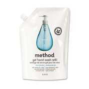 Method® - Refill for Gel Handwash, 1010ml Plastic Pouch, Sea Minerals - Sold As 1 Each - Naturally-derived formula.