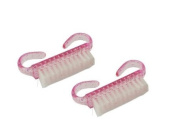 GAO Fashion. 2pcs Nail Art Dust Clean Brush After File Manicure
