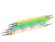 LUO 2PCS Popular Selling Product Way Dotting Pen 5Pcs Nail art Tool Paint Manicure