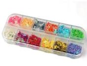GAO Fashion. 12 nail art colourful animals decoration tips Ongle