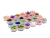 GAO Fashion. 24 nail art decoration tips Ongles shiny powder