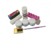 GAO Fashion. profession full nail art set acrylic UV Gel S172