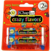 Chap Ice Lip Protectant Crazy Flavours Verry Berry - 2 pk,