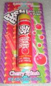 Lotta Luv Push Pop Cherry Splash Flavoured Lip Balm 5ml 4.2g