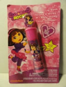 Dora Rocks! Lip Balm with Body Stamp