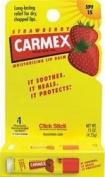 Carmex Strawberry Flavour Moisturising Lip Balm Stick SPF 15