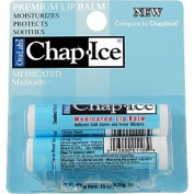 Chap Ice Premium Lip Balm 2-Pack Medicated