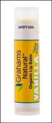 Organic Lip Balm Vanilla Graham's Natural .440ml Lip Balm