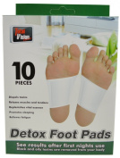 Detox Foot Pads 10 Pack - Total Vison