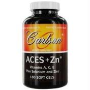 Carlson by ACES + Zn Vitamins A, C, E Plus Selenium And Zinc- 180 Soft Gels