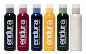Endura Airbrush Body Art Paint Set in 6 Primary Colours