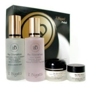 Z. Bigatti Prelude Starter Kit Gel Cleanser 56g & Silktoner 56ml & Skin Treatment 15g & Eye Return 7g 4 pcs