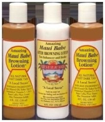 Hawaii Maui Babe Value Pack 2 Browning & 1 After Sun 240ml bottles
