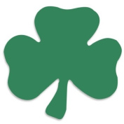 Clover Shamrock Tanning Stickers 100 Pack