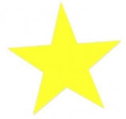 Star Tanning Stickers 100 Pack