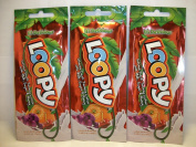 3 packets Loopy Intense Dark Tan Maximise w/Milk Sugar Honey .5z