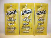 3 packets Blazin Bananas Red Hot Ultra Dark 15xBronzer .57z