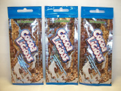 3 packets Cocoa Licious Double Dark Chocolate Bronzers 15ml