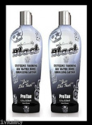 2 X Pro Tan Unbelievably Black Sunbed Lotion Cream Tanning 250ml