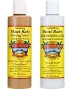 Maui Babe Salon Formula Beach Pack For Indoor Tanning- (2) 240ml Bottles