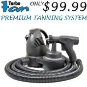 Turbo Tan Premium Sunless Airbrush HVLP Spray Tanning System Spray DHA Machine