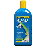No-Ad Sunblock Lotion Spf 45. 470ml Each