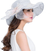 UV sun hat female Lady Women summer Beach Cap Sun hat Foldable sun hat Big Double Bow Wide Brim Large Brim Sun hats
