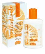 Helan Vogliadisole Very High Protection SPF30 UVA/UVB Sunscreen Milk, Water Resistant, Paraben Free, PABA Free and Oxybenzone Free