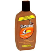 PACK OF 3 EACH COPPERTONE LOTION SPF-4 240ml PT#4110004143