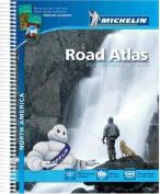 USA Canada Mexico 2015 A4 Spiral Atlas