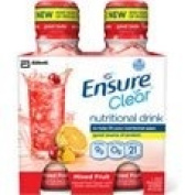 Ensure Clear® Mixed Fruit Nutritional Drink / 300ml bottle / 4-bottles