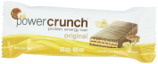 Power Crunch Protein Energy Bar, Peanut Butter Fudge, 12 Bars, 40ml (40 g) Each